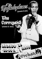 the MAGNETOPHONES + the CORRIGANS, sáb. 23 Mayo´09 ARREBATO